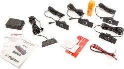 Парковочные радары/парктроник Fighter FPS-4A Black