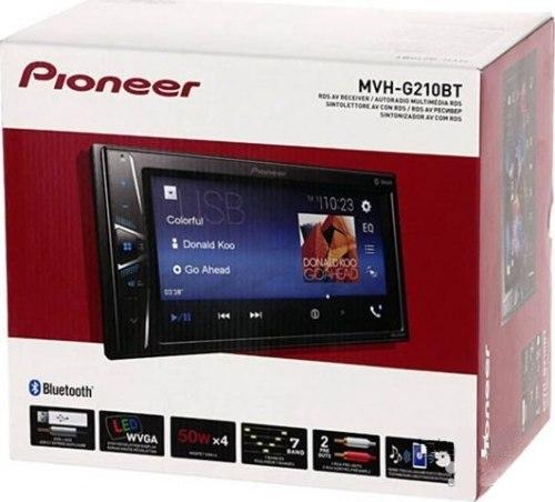 Автомагнитола Pioneer MVH-G210 BT