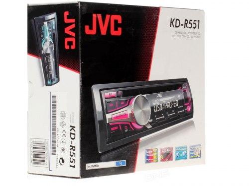 Автомагнитола JVC KD-R 551