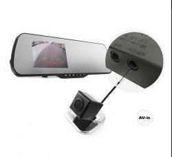 Зеркало с видеорегистратором Falcon HD70-LCD