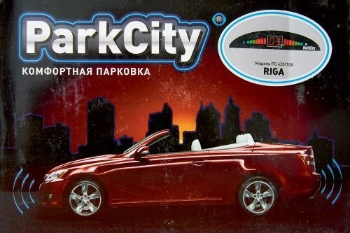 Парковочные радары/парктроник ParkCity Riga