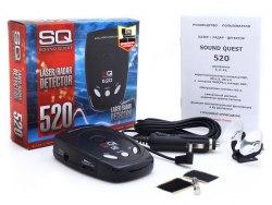 Радар-детектор (антирадар) Sound Quest SQ-520