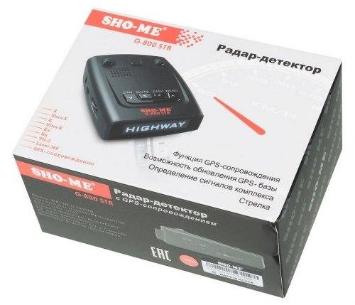 Радар-детектор (антирадар) Sho-me G800 STR