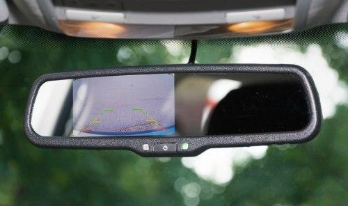 Зеркало заднего вида с монитором PHANTOM RMS-430