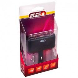 Переходник/разветвитель USB от разъема прикуривателя автомобиля PULSO SC-2004