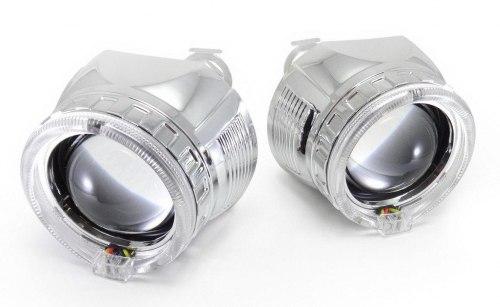 Линзы биксенон Infolight G5 c ангельскими глазками Neon