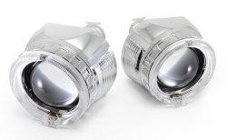 Линзы биксенон Infolight G5 с ангельскими глазками LED