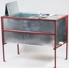 Стол для распечатки рамок, совмещенный с медогонкой из нержавейки
