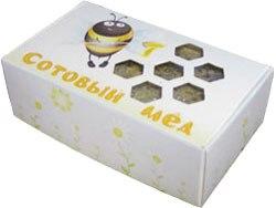 Упаковка для сотового меда