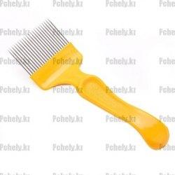 Вилка для распечатки сотов пластиковая ручка