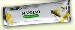 Препарат WangShi Manhao Fluvalinate Strip (80 доз)