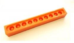 Форма для изготавления восковых мисочек ( 10 штук)