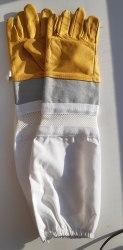 Перчатки пчеловода XL (натур.кожа)