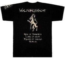VARATHRON - Walpurgisnacht - XL Майка Black Metal