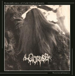 CORPSE - Remembrance Of Cold Embodiments / Necroculinary CD Death Metal