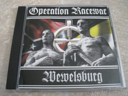 OPERATION RACEWAR / WEWELSBURG - No More Cold War! CD NS Metal