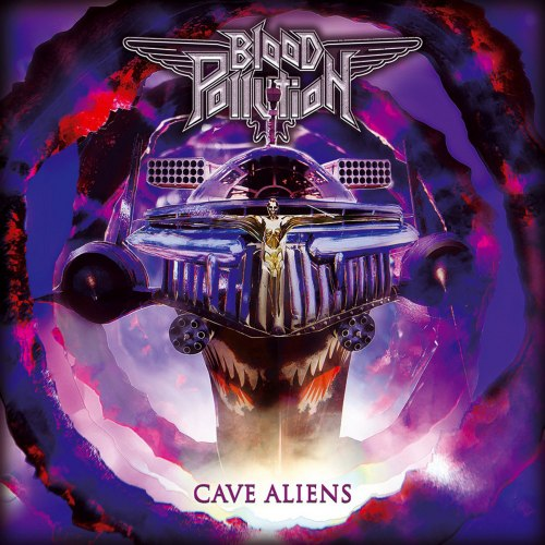 BLOOD POLLUTION - Cave Aliens CD Rock'n'Roll