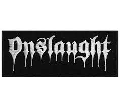 ONSLAUGHT - Logo Нашивка Thrash Metal