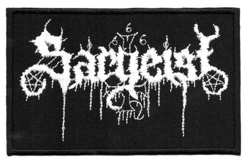 SARGEIST - Logo Нашивка Black Metal