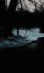 FOREST MYSTICISM / KRYPTA NICESTWA - Mirrors of Glaciated Earth Tape Blackened Metal