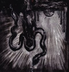 CHARNEL WINDS / VERGE - Two Serpents CD Black Metal