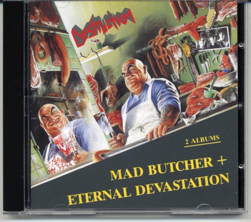 DESTRUCTION - Mad Butcher / Eternal Devastation CD Thrash Metal