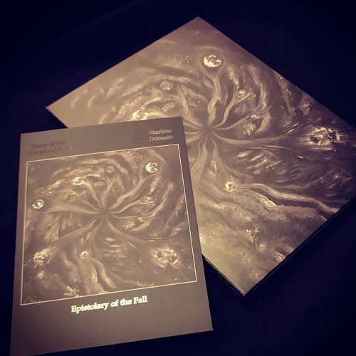 TOME OF THE UNREPLENISHED / STARLESS DOMAIN - Epistolary of the Fall A5 Digi-CD Avantgarde Metal