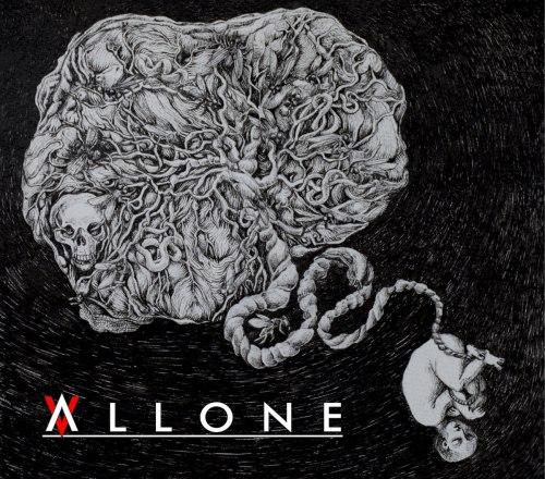 ALLONE - Alone... Digi-CD Experimental Metal
