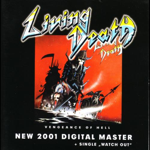 LIVING DEATH - Vengeance of Hell CD Speed Metal