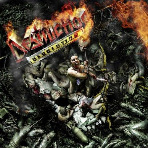 DESTRUCTION - D.E.V.O.L.U.T.I.O.N. CD Thrash Metal
