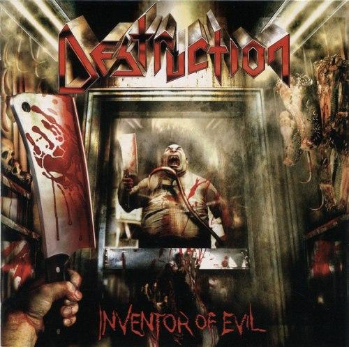 DESTRUCTION - Inventor Of Evil CD Thrash Metal