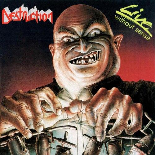 DESTRUCTION - Live - Without Sense CD Thrash Metal