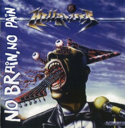 HELLRAISER - No Brain, No Pain CD Thrash Metal