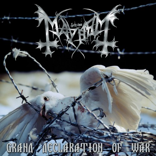 MAYHEM - Grand Declaration Of War CD Industrial Blackened Metal