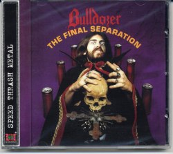 BULLDOZER - The Final Separation CD Speed Thrash Metal