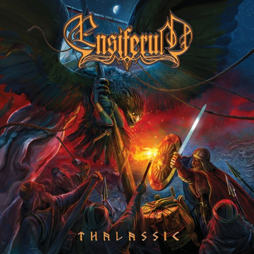 ENSIFERUM - Thalassic Digi-CD Folk Metal