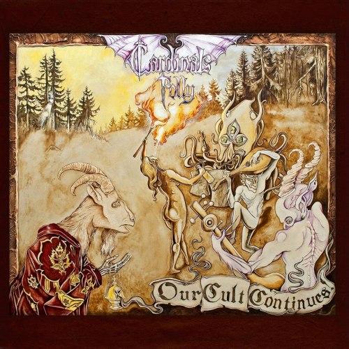 CARDINALS FOLLY - Our Cult Continues! CD Doom Metal
