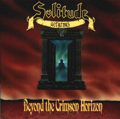 SOLITUDE AETERNUS - Beyond The Crimson Horizon CD Doom Metal