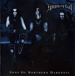 IMMORTAL - Sons of Northern Darkness Gatefold DLP Nordic Metal