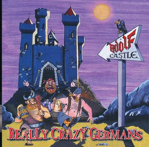 ADOLF CASTLE - Really Crazy Germans LP Heavy Metal