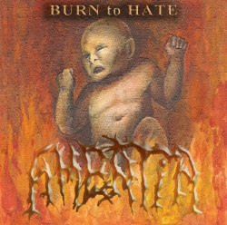 AMENTIA - Burn to Hate CD Technical Death Metal