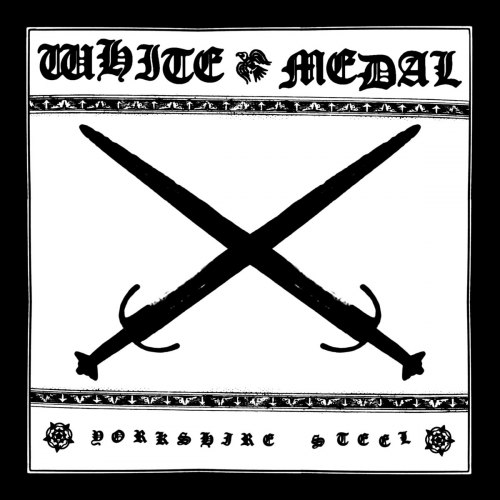 WHITE MEDAL - Yorkshire Steel CD Heathen Metal