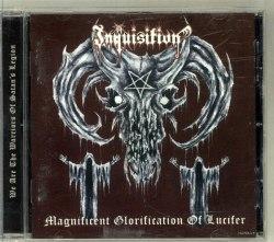 INQUISITION - Magnificent Glorification Of Lucifer CD Black Metal