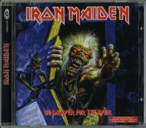 IRON MAIDEN - No Prayer For The Dying CD Heavy Metal