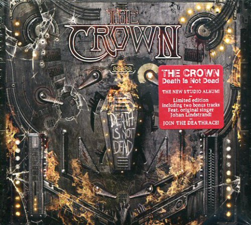 THE CROWN - Death Is Not Dead Digi-CD Death Metal