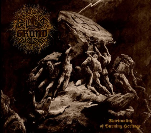 BLUTGRUND - Spirituality Of Burning Heritage Digi-MCD Blackened Metal