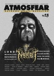 ATMOSFEAR #25 Журнал Metal