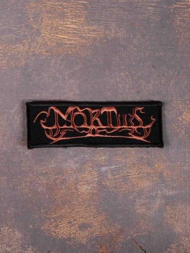 MORTIIS - Logo Нашивка Dark Ambient
