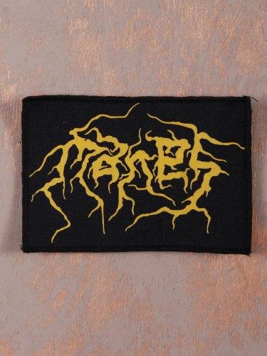 MANES - Logo Нашивка Black Metal
