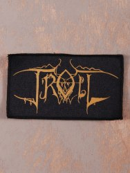 TROLL - Logo Нашивка Blackened Metal